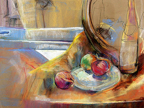 Still Life with Onions by Daun Soden-Greene