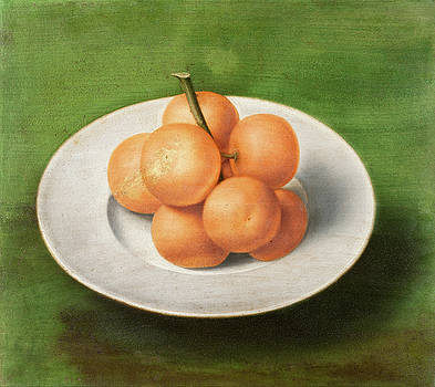 Anonymous - Still life with Oranges on a Plate