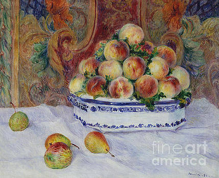 Pierre Auguste Renoir - Still Life with Peaches, 1881
