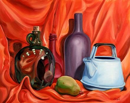 Still Life with Pear by Maryn Crawford