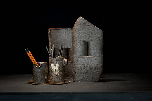 Still Life with Pencils by William Sulit