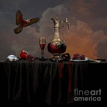Alexa Szlavics - Still life with pomegranate