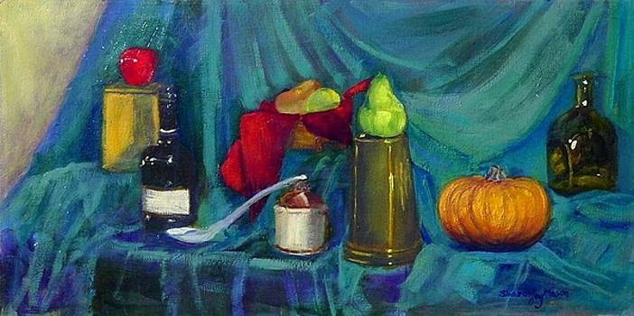 Still Life with Pumpkin by SharonJoy Mason