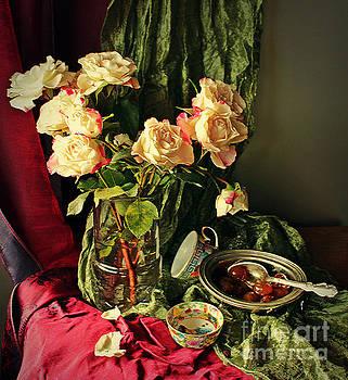 Still life with roses by Binka Kirova