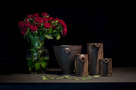 Still Life with Roses by William Sulit