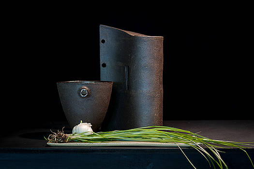 Still Life with Shallots by William Sulit