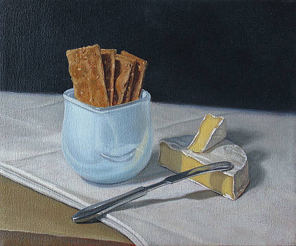 Still Life with Snack by Amy Tennant