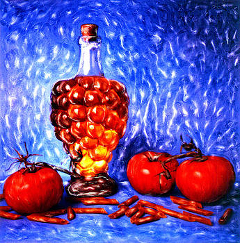 Renata Ratajczyk - Still Life with Tomatos - 1