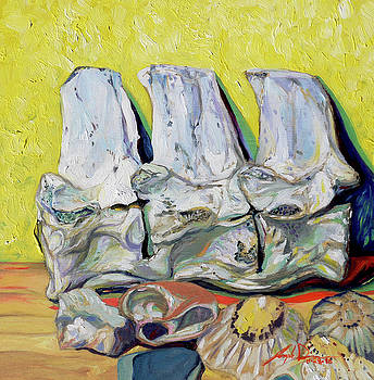 Still Life of Treasures by Joseph Demaree
