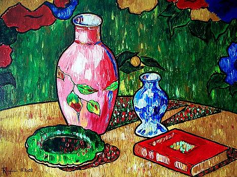 Still Life with Vase by RB McGrath