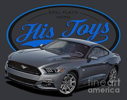Still Plays with His Mustangs by Paul Kuras