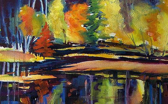 Still Reflections of Autumn SOLD by Therese Fowler-Bailey