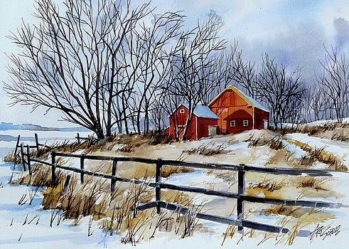 Still Some Snow by Art Scholz