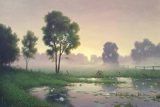 Stillness of the Morning Hour by Barry DeBaun