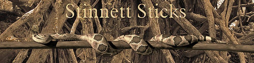 Stinnett Sticks Logo by Mike Stinnett