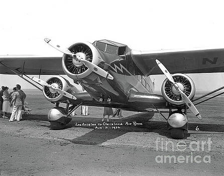 California Views Mr Pat Hathaway Archives -  Stinson U Tri-Motor ar Los Angeles to Cleveland air race August 1932