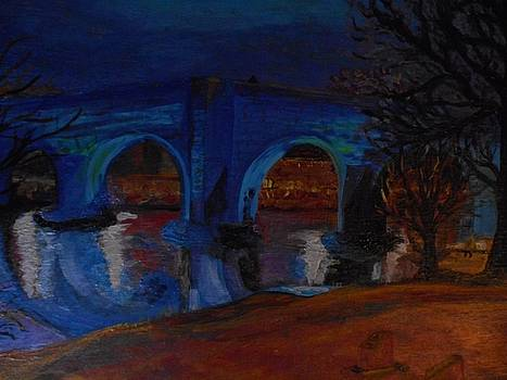 Stirling bridge blues by Patricia Hovey