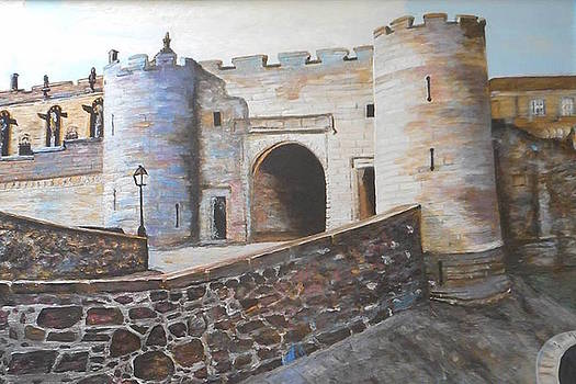 Stirling castle of Scotland by Patricia Hovey