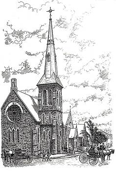 St.James Anglican Kemptville Ontario 1999 by John Cullen