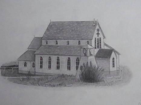 St.Margarets Anglican Church Change Islands by Tonya Hoffe