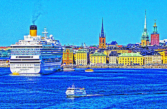 Dennis Cox WorldViews - Stockholm Cruise
