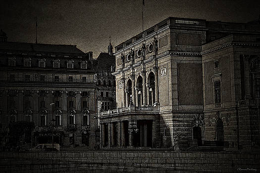 The Royal Swedish Opera by Ramon Martinez