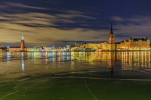 Dejan Kostic - Stockholm Ice Puzzle and Reflection