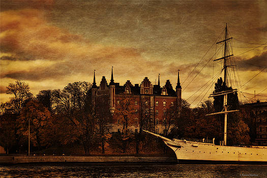 Stockholm in Autumn III by Ramon Martinez