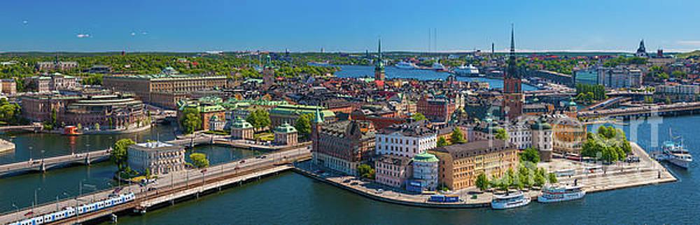 Stockholm Panorama by Inge Johnsson