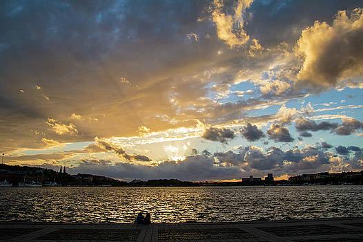Stockholm Sunset by Alexandra-Emily Kokova