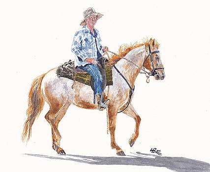 Stockman Riding By by Leonie Bell