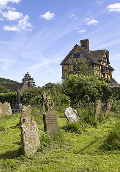 Stokesay Castle Gatehouse Shropshire England by Bob Kemp