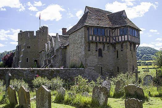 Stokesay Castle Shropshire by Bob Kemp