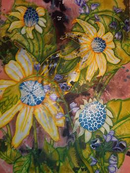 Stolen Sunflowers by Crystal N Puckett