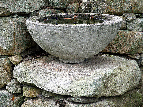 Stone Bowl by Jean Hall