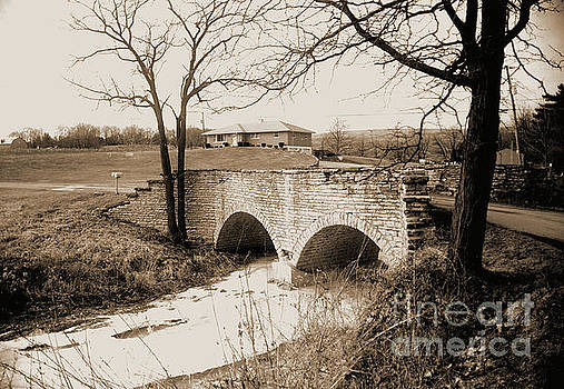 Stone Bridge on Harveys Branch Road by Gary Wonning