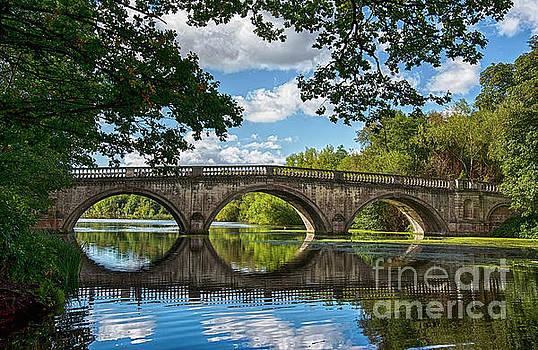 Stone Bridge Over The River 590  by Ricardos Creations