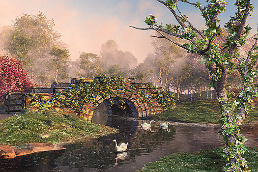 Stone Bridge Two by Mary Almond