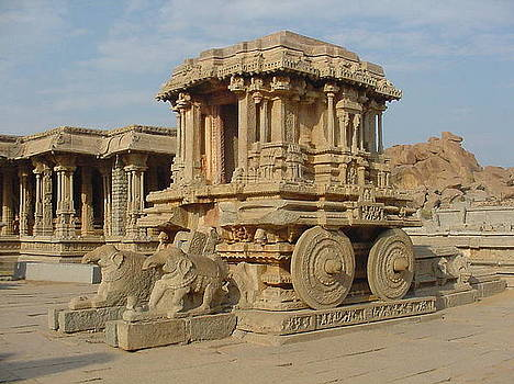 Stone Chariot by Mirror Emage