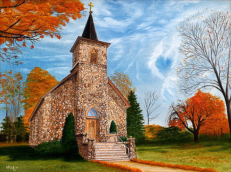 Stone Church by Vicky Path