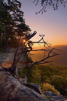 Stone Door Sunrise by Dennis Sprinkle