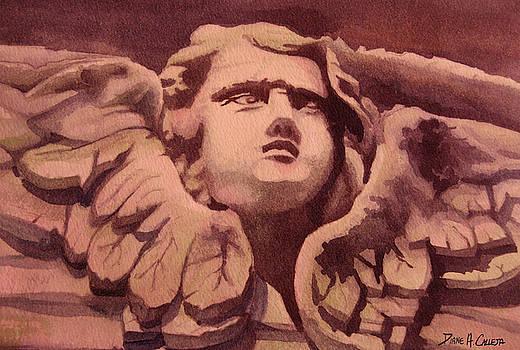 Stone face by Diane Agius Calleja