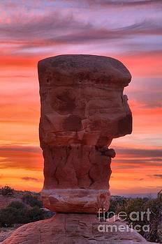 Adam Jewell - Stone Face Sunset