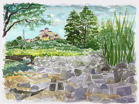 Stone Garden at Ortonova by Ralph Papa