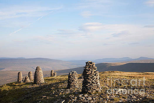 Stone men of Wild Boar Fell by Gavin Dronfield