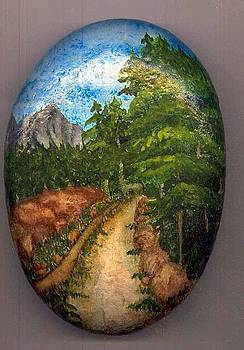 Stone Painting by Asif Kasi