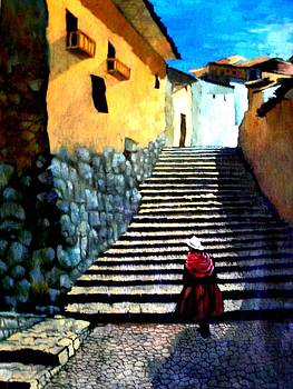 Stone Path by Victor Cuya