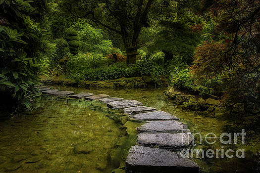 Stone Pathway by Jerry Fornarotto
