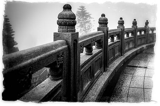 Stone Railings by Christopher Francis