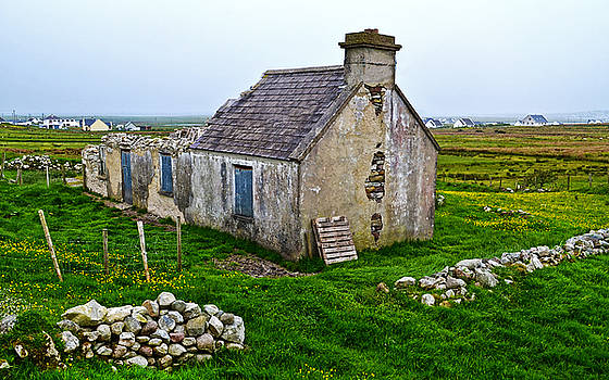 Stone Remnant in Achill Island by Jeffrey Hamilton